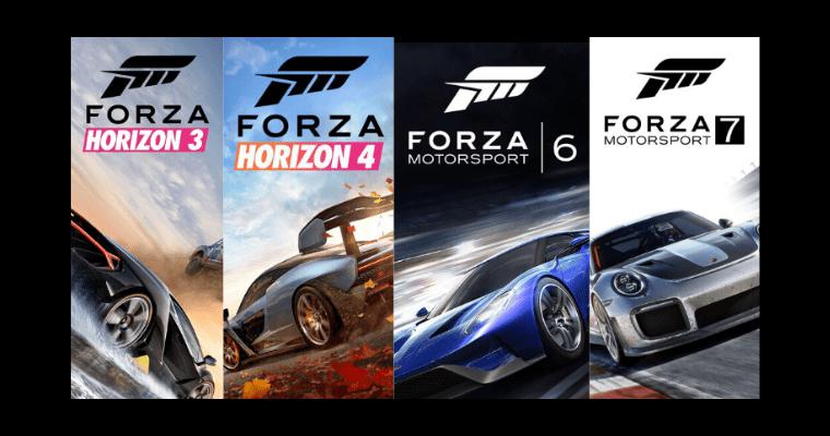 Forza Horizon Collection 3-4-6-7 Ultimate [Активация Игры Microsoft Store – Онлайн Режим]