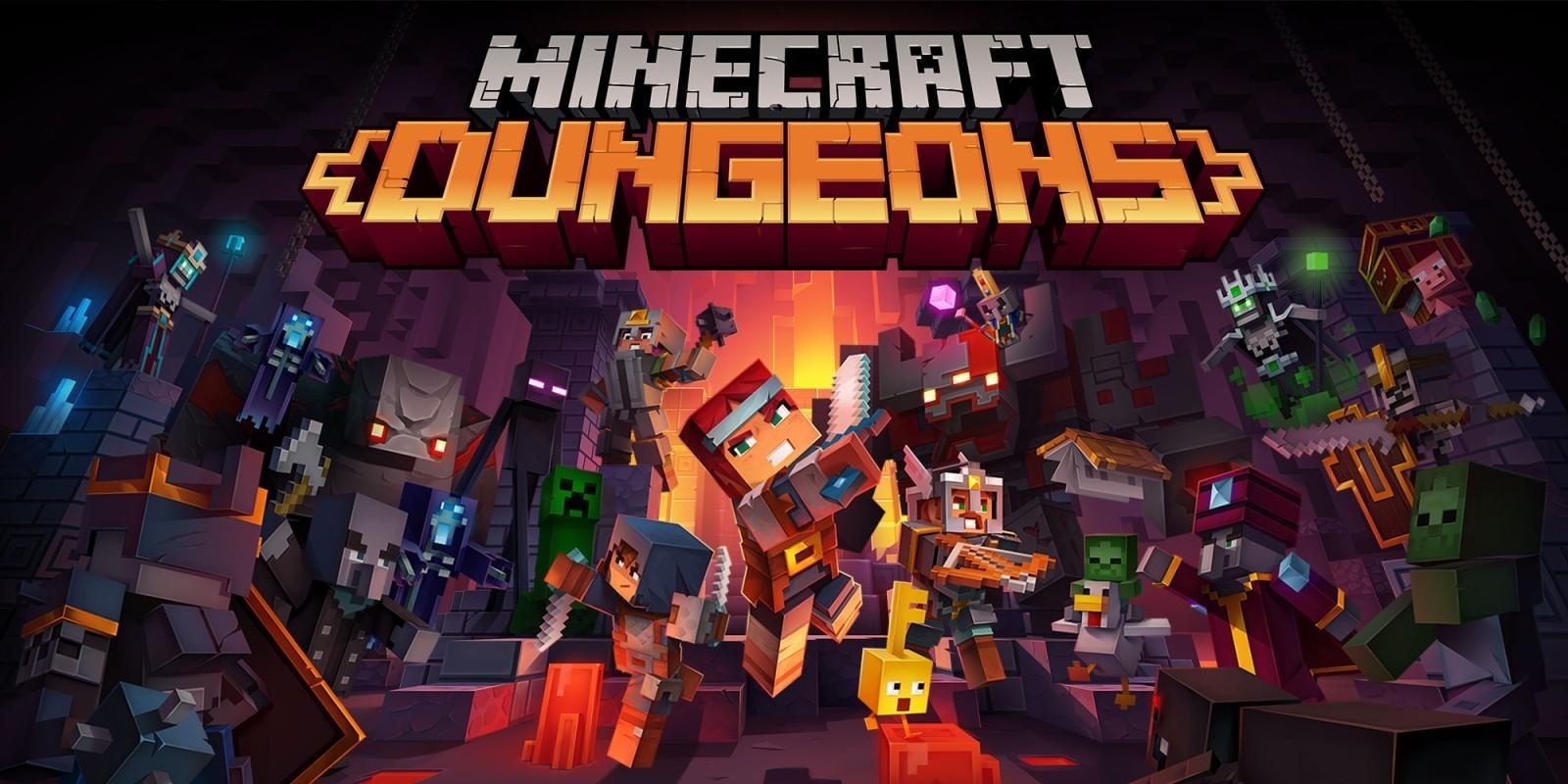 Minecraft Dungeons – Hero Edition [Активация Игры Microsoft Store – Онлайн Режим]